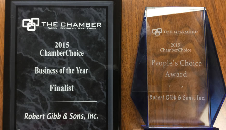 2015 ChamberChoice Award Winner!